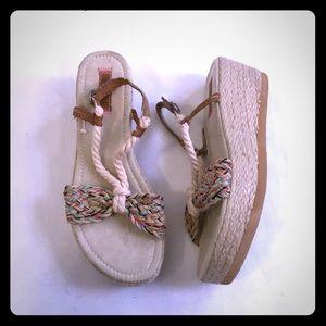 5/$20 Roxy rope espadrilles Sandals 9 9.5 10